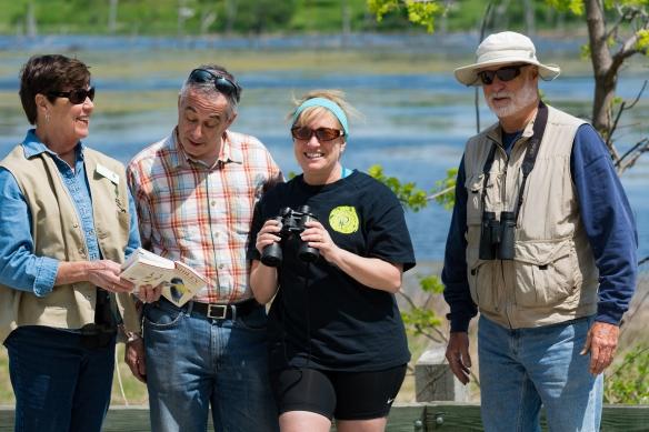 Birding is a rewarding activity that requires patience and knowledge. Photo © Tim Elliott.