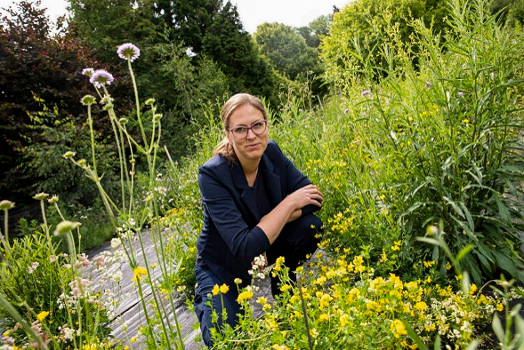 Dr. Anna Bucharova, assistant professor at the Institute of Landscape Ecology, Münster. Photo © Anna Bucharova.